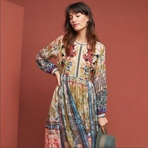 NWT Bhanuni by Jyoti Anthropologie Dress Medium